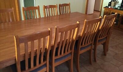 AU700 • Buy Kitchen Dining Table - 8 X Chairs