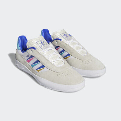 AU155 • Buy Adidas Shoes Lucas Puig Cloud White/Sonic Ink/Signal US Size Skateboard Sneakers