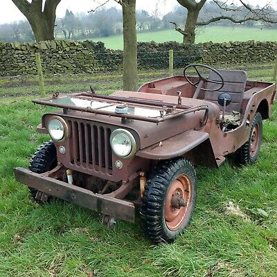 £9995 • Buy 1948 Willys Jeep Cj2a Classic Car Military Vehicle Barn Find