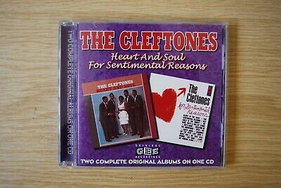£6.99 • Buy The Cleftones - Heart And Soul / For Sentimental Reasons CD WESM546