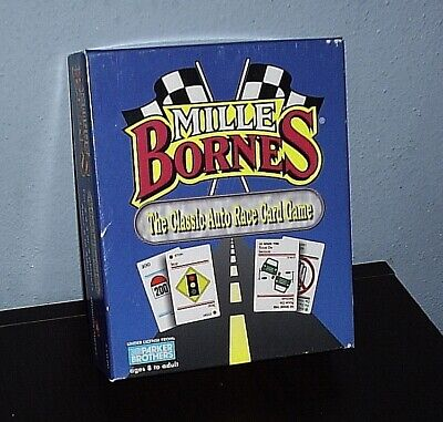 $5.99 • Buy 1992 Parker Brothers Mille Bornes The Classic Auto Race Card Game COMPLETE