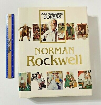 $ CDN31.46 • Buy Large Norman Rockwell 332 Magazine Covers Coffee Table Book - Finch (1979)