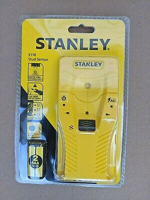 £14.95 • Buy Stanley S110 Stud And Live Wire Detector