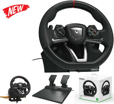 £127.95 • Buy Xbox One Steering Wheel And Pedal Set Racing Gaming Simulator Driving PC Real UK