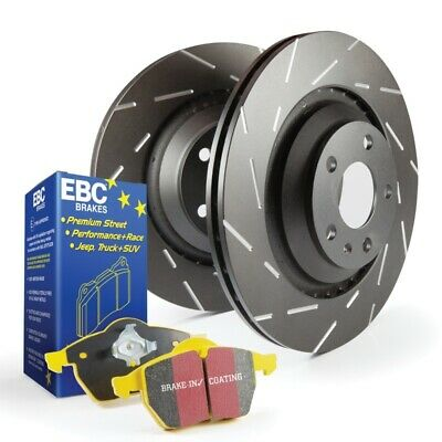 $497.10 • Buy EBC YellowStuff Brake Pads & Slotted Rotors For Charger SRT 6.1/6.4 [Front]
