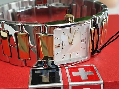 £220 • Buy Tissot Lady Watch Gold Plated And Steel New In Box 100% Original - Low Price