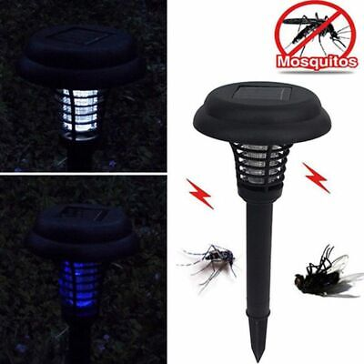£7.49 • Buy Solar Powered Outdoor Mosquito Fly Bug Insect Zapper Killer Trap Lamp Light