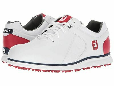 $109.99 • Buy Footjoy Pro SL Golf Shoes White Red Blue 10.5 M NEW