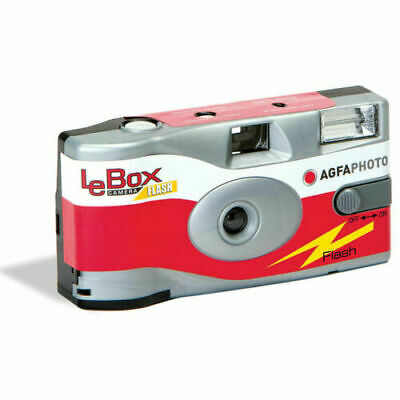 £13.95 • Buy AgfaPhoto LeBox 400 Disposable Camera With Flash (27 Exposures)