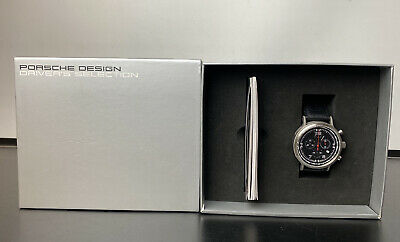 £799.99 • Buy NEW - Ltd Edition Genuine Porsche 911 Chronograph Watch With Red Second Hand