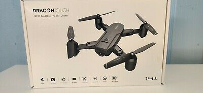 £44.99 • Buy Dragon Touch DF01, Foldable GPS FPV Drone