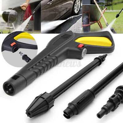 £10.99 • Buy High Pressure Washer Trigger Gun Variable Angled Turbo Lance Fit VAX LAVOR BS