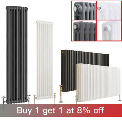 £109.97 • Buy Traditional Horizontal Vertical Radiator Central Heating Cast Iron Style Rads