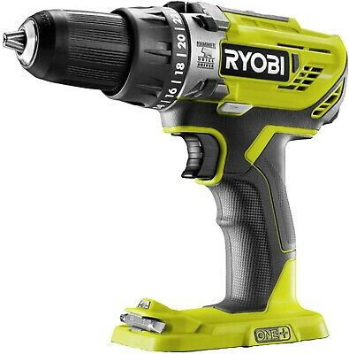 £51.95 • Buy Ryobi R18PD3-0 ONE+ 18V Cordless Compact Hammer Drill (Body Only)