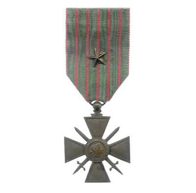 £30 • Buy FRANCE. War Cross (Croix De Guerre) 1914-1917 With Star Citation On The Ribbon