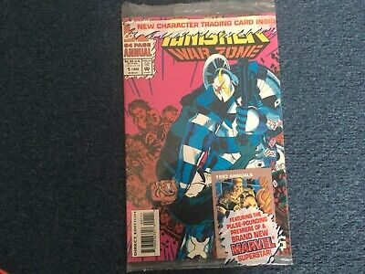 £1.99 • Buy The Punisher War Zone Annual Issue #1 VERY FINE With Bag & Card