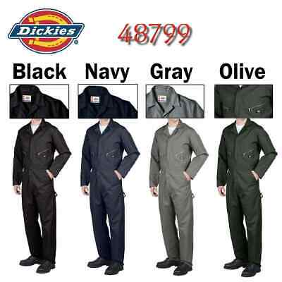 $42.95 • Buy Dickies 48799 Long Sleeve COVERALLS Men Mechanic Cotton Blend Coverall - New