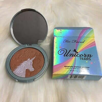 AU28.33 • Buy Too Faced Unicorn Tears Bronzer LIMITED EDITION BRAND NEW
