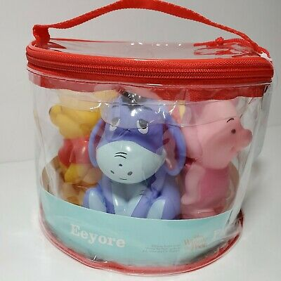 £14.43 • Buy Disney Baby Squirt Toys Bath Tub Gift Set Winnie The Pooh 5 Pack 18 Months + NEW