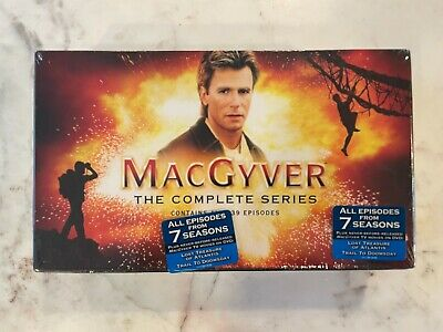 $1290 • Buy SEALED MacGyver The Complete Series DVD Box Set Contains All 139 Episodes
