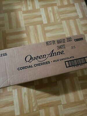 $45 • Buy Lot Of 12 (6.6 Oz) CASE - Queen Anne Chocolate Covered Cordial Cherries