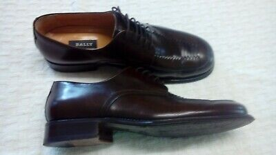 £34 • Buy Bally Mens Shoes Size 8.5 E Beautiful Italian Style Dark Brown Excellent Cond