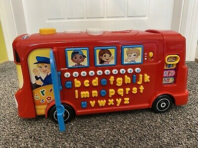 £8.50 • Buy VTech 150003 Playtime Bus Educational Alphabet Phonics Letters Numbers Counting