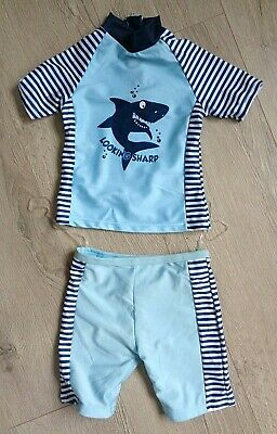£2.99 • Buy New-  Two Piece Uv Sun Protection Suit Age 18-24 Months