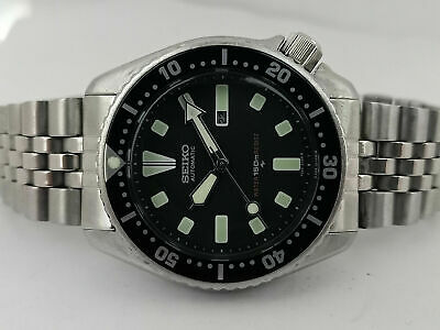 $ CDN145.41 • Buy Lovely Pre Owned Vintage Seiko Diver 4205-0156 Automatic Watch S.n: 341353