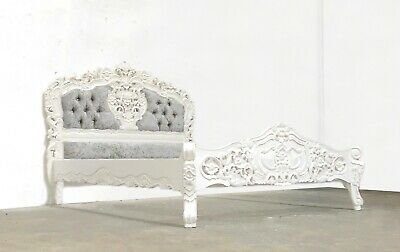 £629 • Buy Rococo Kingsie Rococo Bed White Hand Made Brand New