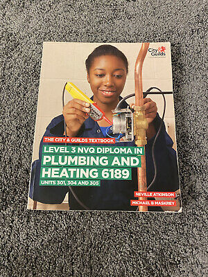 £40 • Buy Level 3 NVQ Diploma In Plumbing And Heating 6189 Book