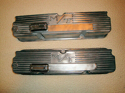$150 • Buy M/T Mickey Thompson FE 390 427 428 Ford The Real 11 Fin Aluminum Valve Covers