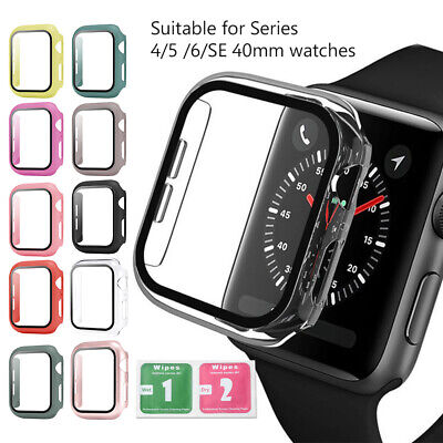 AU3.45 • Buy Tempered Glass Screen Protector For Apple Watch IWatch Series 4 5 6 SE 40mm 58E