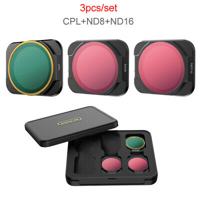 AU24.60 • Buy Camera Lens Filter ND/PL CPL MCUV ND16 Filter Set For DJI Mavic AIR 2S Drone