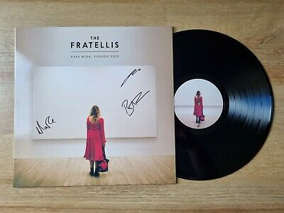 £25 • Buy Fratellis - Eyes Wide, Tongue Tied - SIGNED - Near Mint Condition