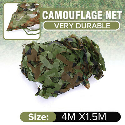 $15.46 • Buy Woodland Camouflage Hunting Netting Military Camo Net Camping Cover 13 X 5f