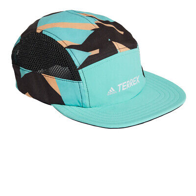 £26.99 • Buy Adidas Mens Terrex 5 Panel Graphic Cap Green Sports Outdoors Breathable