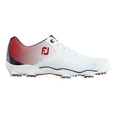 $119.95 • Buy Footjoy DNA Helix Golf Shoes - White/Red/Blue - Previous Season Style