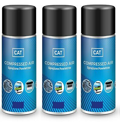 £6.99 • Buy Promotion 3x 200ml Compressed Air Duster Gas Spray Cleaner MAX POWER Can