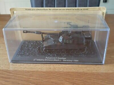 £8.95 • Buy Deagostini Die Cast Model Tank Collection Paladin S.P. Howitzer Germany - 1994