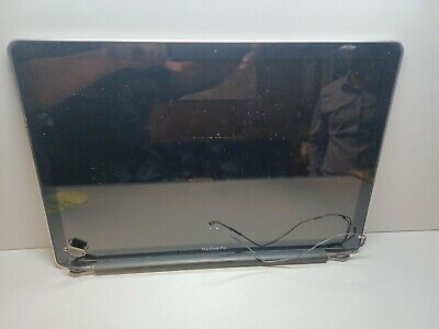 $55 • Buy MacBook Pro 15  A1286 2010 MC371LL/A LCD Screen & Hinges Assembly 661-5483 - 153
