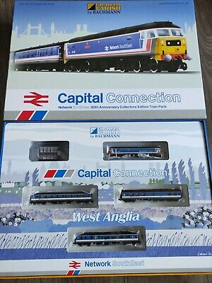 £190 • Buy 370-430 Graham Farish N Gauge Capital Connection DCC FITTED Train Set Railway