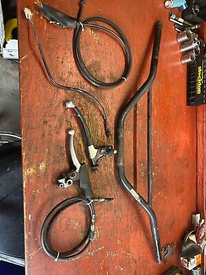 $55 • Buy 1974-1981 Yamaha DT175 Magura Levers With Cables And Handlebars