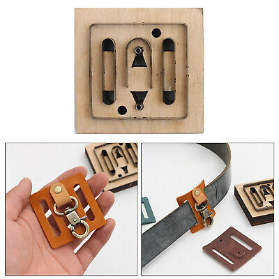 £7.38 • Buy Leather Craft Cutting Die Hollow Mold Punch Tool Template Stencils Jewelry