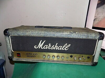 $ CDN277.69 • Buy MARSHALL Lead 100 Mosfet Model 3210 Amplifier Head Amp Tested To Power Only
