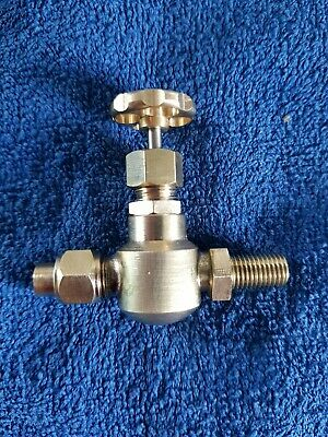 £27.75 • Buy Steam Valve Suitable Stuart Models 1/4 Pipe And 5/16 X 26 Spigot NOS UK Made.