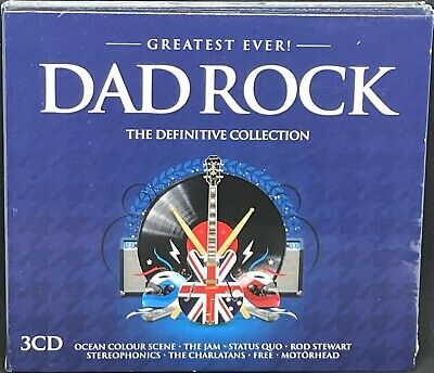 £4.99 • Buy Greatest Ever! Dad Rock - The Definitive Collection, Triple Cd Album, (2016) New