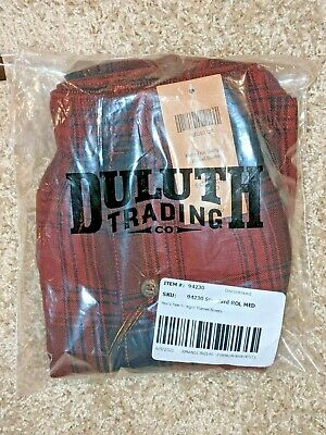 $17 • Buy Duluth Trading Free Swingn' Flannel Boxer, Men's Size M, Red Plaid