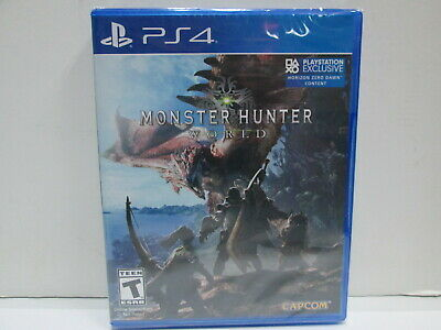 AU24.43 • Buy PLAYSTATION 4 PS4 VIDEO GAME MONSTER HUNTER WORLD BRAND NEW  SEALED Free Shippin