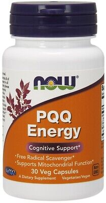 $ CDN51.96 • Buy NOW Foods PQQ Energy Supports Memory & Mitochondrial Function 30 Veg Capsules